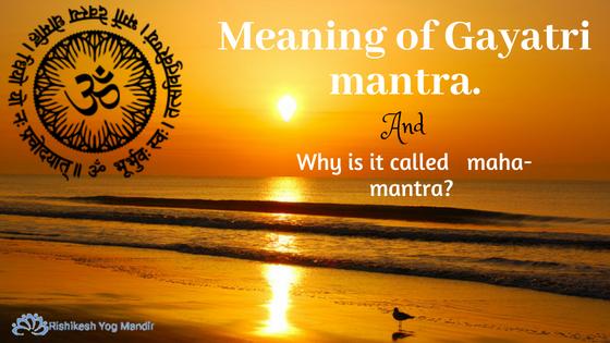 Meaning of Gayatri mantra