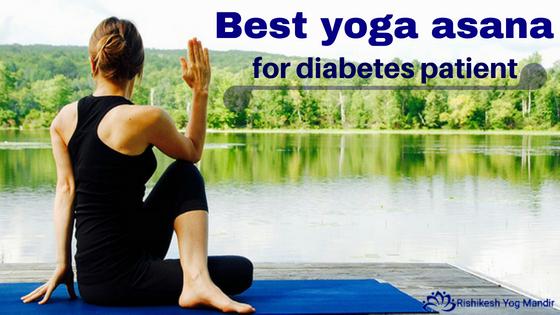 best yoga asana for diabetes patient