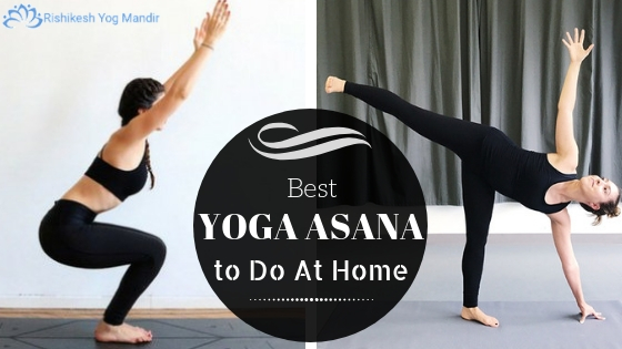 Yoga asana to do at home