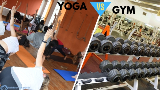 yoga vs gym